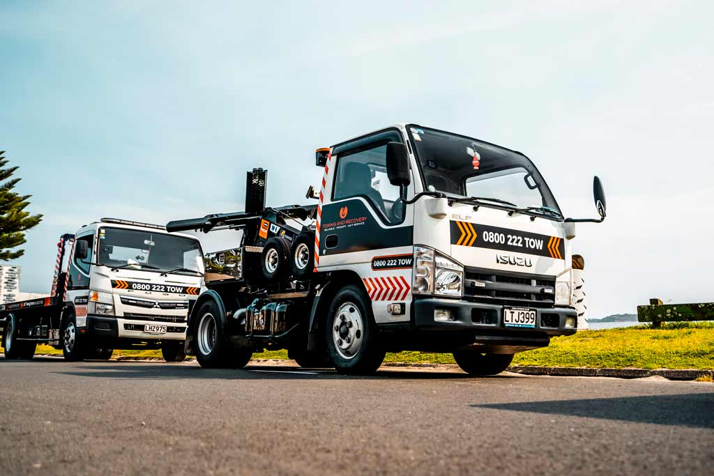 Towing and Recovery trucks